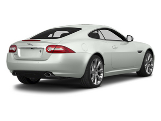 Polaris White 2014 Jaguar XK Pictures XK Coupe 2D V8 photos rear view