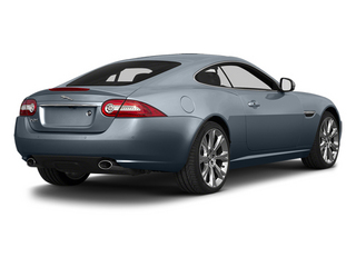 Satellite Gray Metallic 2014 Jaguar XK Pictures XK Coupe 2D V8 photos rear view