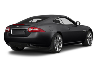 Ultimate Black Metallic 2014 Jaguar XK Pictures XK Coupe 2D V8 photos rear view