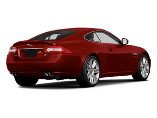 Italian Racing Red 2014 Jaguar XK Pictures XK Coupe 2D XKR V8 Supercharged photos rear view