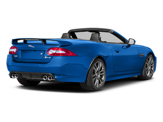French Racing Blue 2014 Jaguar XK Pictures XK Convertible 2D XKR-S V8 Supercharged photos rear view