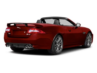 Italian Racing Red 2014 Jaguar XK Pictures XK Convertible 2D XKR-S V8 Supercharged photos rear view