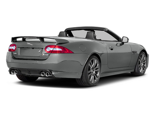Rhodium Silver Metallic 2014 Jaguar XK Pictures XK Convertible 2D XKR-S V8 Supercharged photos rear view