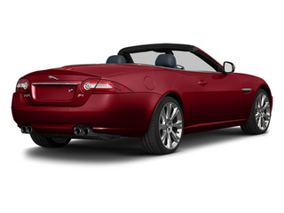 Italian Racing Red 2014 Jaguar XK Pictures XK Convertible 2D XKR V8 Supercharged photos rear view