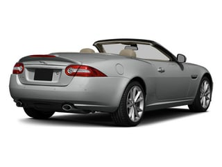Rhodium Silver Metallic 2014 Jaguar XK Pictures XK Convertible 2D Touring V8 photos rear view
