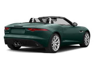 British Racing Green 2014 Jaguar F-TYPE Pictures F-TYPE Convertible 2D V6 photos rear view