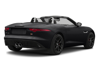 Ebony Black 2014 Jaguar F-TYPE Pictures F-TYPE Convertible 2D S V6 photos rear view