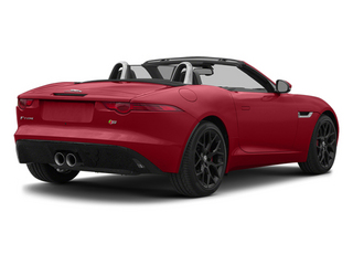 Italian Racing Red 2014 Jaguar F-TYPE Pictures F-TYPE Convertible 2D S V6 photos rear view