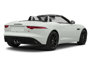 Polaris White 2014 Jaguar F-TYPE Pictures F-TYPE Convertible 2D S V6 photos rear view