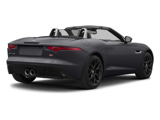 Stratus Gray Metallic 2014 Jaguar F-TYPE Pictures F-TYPE Convertible 2D S V6 photos rear view