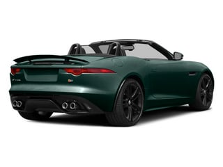 British Racing Green 2014 Jaguar F-TYPE Pictures F-TYPE Convertible 2D S V8 photos rear view