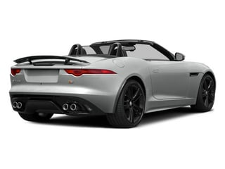Rhodium Silver Metallic 2014 Jaguar F-TYPE Pictures F-TYPE Convertible 2D S V8 photos rear view