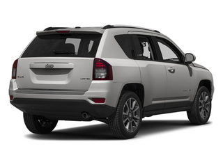 Bright Silver Metallic Clearcoat 2014 Jeep Compass Pictures Compass Utility 4D Altitude 4WD photos rear view