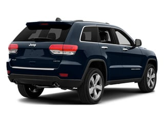 True Blue Pearlcoat 2014 Jeep Grand Cherokee Pictures Grand Cherokee Utility 4D Limited Diesel 2WD photos rear view