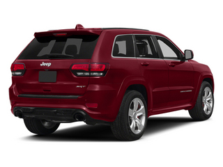 Deep Cherry Red Crystal Pearlcoat 2014 Jeep Grand Cherokee Pictures Grand Cherokee Utility 4D SRT-8 4WD photos rear view