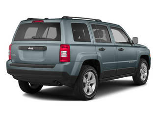 Winter Chill Pearlcoat 2014 Jeep Patriot Pictures Patriot Utility 4D Limited 2WD photos rear view