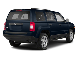 True Blue Pearlcoat 2014 Jeep Patriot Pictures Patriot Utility 4D Limited 2WD photos rear view