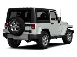 Bright White Clearcoat 2014 Jeep Wrangler Pictures Wrangler Utility 2D Altitude 4WD V6 photos rear view