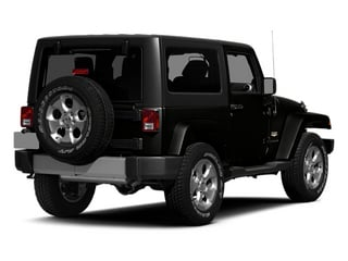 Black Clearcoat 2014 Jeep Wrangler Pictures Wrangler Utility 2D Rubicon 4WD V6 photos rear view