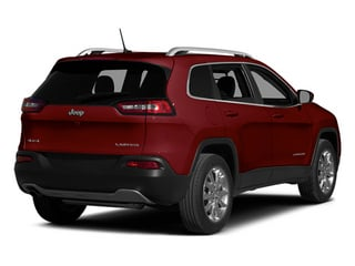 Deep Cherry Red Crystal Pearlcoat 2014 Jeep Cherokee Pictures Cherokee Utility 4D Limited 4WD photos rear view