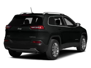 Brilliant Black Crystal Pearlcoat 2014 Jeep Cherokee Pictures Cherokee Utility 4D Latitude 4WD photos rear view