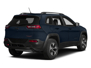 True Blue Pearlcoat 2014 Jeep Cherokee Pictures Cherokee Utility 4D Trailhawk 4WD photos rear view