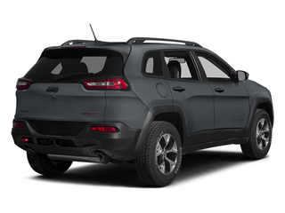 Anvil Clear Coat 2014 Jeep Cherokee Pictures Cherokee Utility 4D Trailhawk 4WD photos rear view