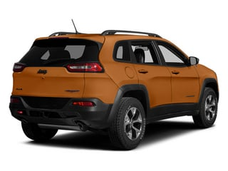 Mango Tango Pearlcoat 2014 Jeep Cherokee Pictures Cherokee Utility 4D Trailhawk 4WD photos rear view