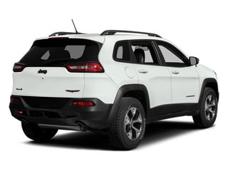 Bright White Clearcoat 2014 Jeep Cherokee Pictures Cherokee Utility 4D Trailhawk 4WD photos rear view