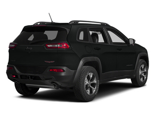 Brilliant Black Crystal Pearlcoat 2014 Jeep Cherokee Pictures Cherokee Utility 4D Trailhawk 4WD photos rear view
