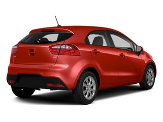 Signal Red 2014 Kia Rio Pictures Rio Hatchback 5D SX I4 photos rear view