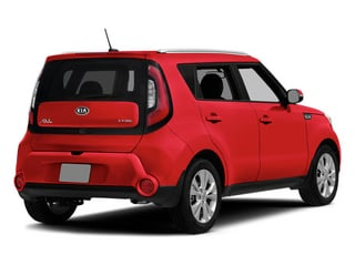 Inferno Red 2014 Kia Soul Pictures Soul Wagon 4D + I4 photos rear view