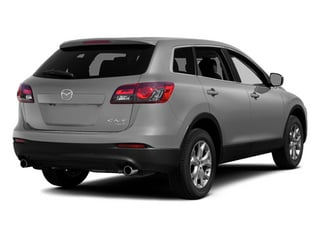 Liquid Silver 2014 Mazda CX-9 Pictures CX-9 Utility 4D GT 2WD V6 photos rear view