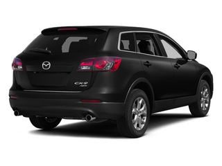 Jet Black Mica 2014 Mazda CX-9 Pictures CX-9 Utility 4D GT 2WD V6 photos rear view