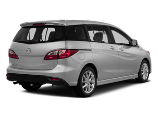 Liquid Silver Metallic 2014 Mazda Mazda5 Pictures Mazda5 Wagon 5D Touring I4 photos rear view