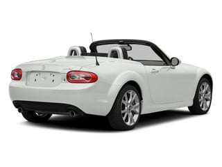 Crystal White Pearl 2014 Mazda MX-5 Miata Pictures MX-5 Miata Convertible 2D Club I4 photos rear view