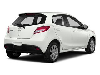 Crystal White Pearl 2014 Mazda Mazda2 Pictures Mazda2 Hatchback 5D Sport I4 photos rear view