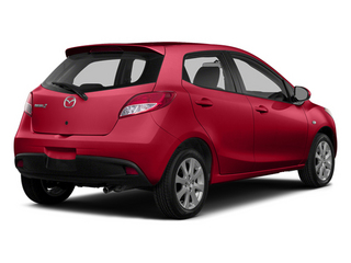 Zeal Red 2014 Mazda Mazda2 Pictures Mazda2 Hatchback 5D Sport I4 photos rear view