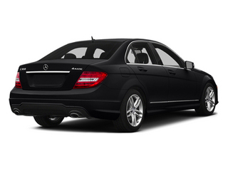 Black 2014 Mercedes-Benz C-Class Pictures C-Class Sedan 4D C300 AWD photos rear view