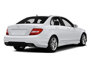 Polar White 2014 Mercedes-Benz C-Class Pictures C-Class Sedan 4D C300 AWD photos rear view