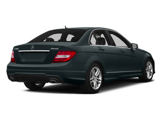Steel Gray Metallic 2014 Mercedes-Benz C-Class Pictures C-Class Sedan 4D C300 AWD photos rear view