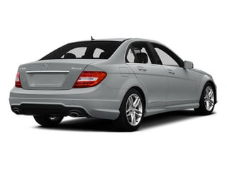 Iridium Silver Metallic 2014 Mercedes-Benz C-Class Pictures C-Class Sedan 4D C300 AWD photos rear view