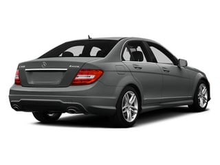 Palladium Silver Metallic 2014 Mercedes-Benz C-Class Pictures C-Class Sedan 4D C300 AWD photos rear view