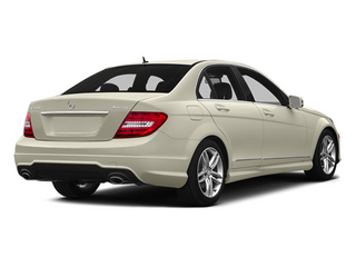 Diamond White Metallic 2014 Mercedes-Benz C-Class Pictures C-Class Sedan 4D C300 AWD photos rear view