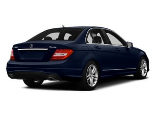 Lunar Blue Metallic 2014 Mercedes-Benz C-Class Pictures C-Class Sedan 4D C300 AWD photos rear view