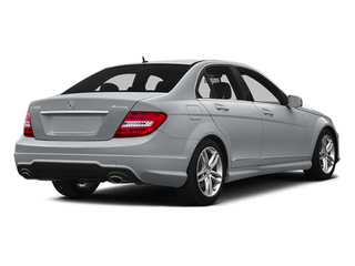 Diamond Silver Metallic 2014 Mercedes-Benz C-Class Pictures C-Class Sedan 4D C300 AWD photos rear view