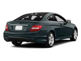 Steel Gray Metallic 2014 Mercedes-Benz C-Class Pictures C-Class Coupe 2D C250 I4 Turbo photos rear view