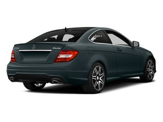 Steel Gray Metallic 2014 Mercedes-Benz C-Class Pictures C-Class Coupe 2D C350 V6 photos rear view