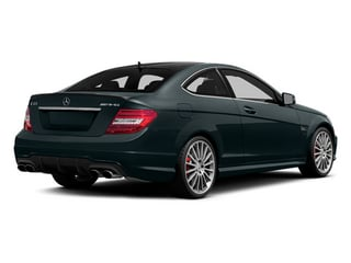 Steel Gray Metallic 2014 Mercedes-Benz C-Class Pictures C-Class Coupe 2D C63 AMG V8 photos rear view
