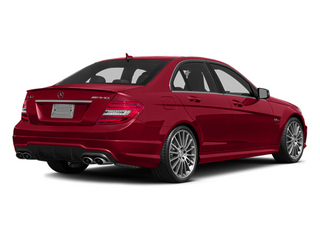 Mars Red 2014 Mercedes-Benz C-Class Pictures C-Class Sport Sedan 4D C63 AMG photos rear view